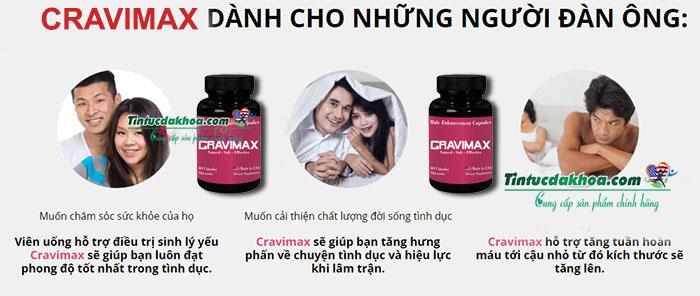 công dụng cravimax