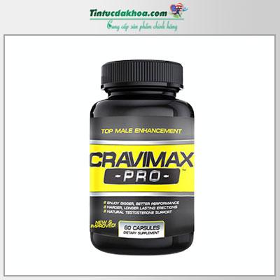 Viên uống Cravimax Pro tăng kích thước dương vật lên 5cm