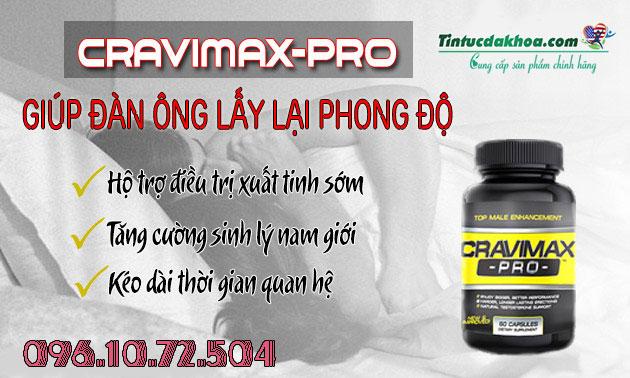 công dụng cravimax pro