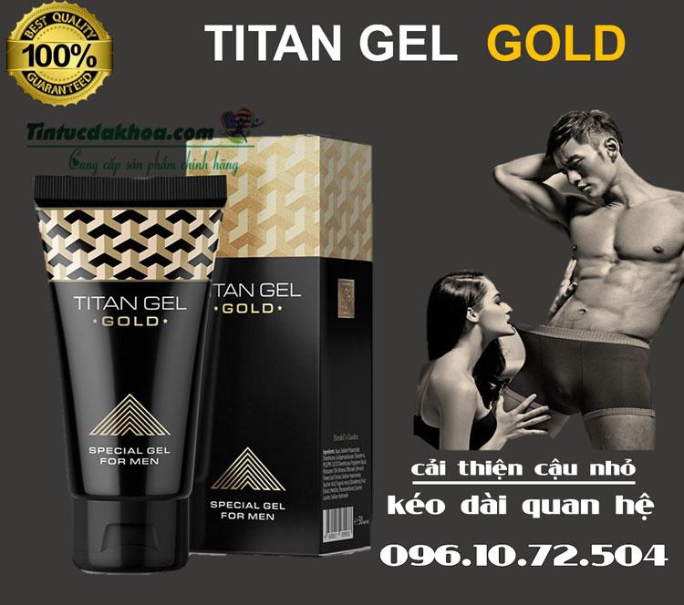 titan gel gold là gì