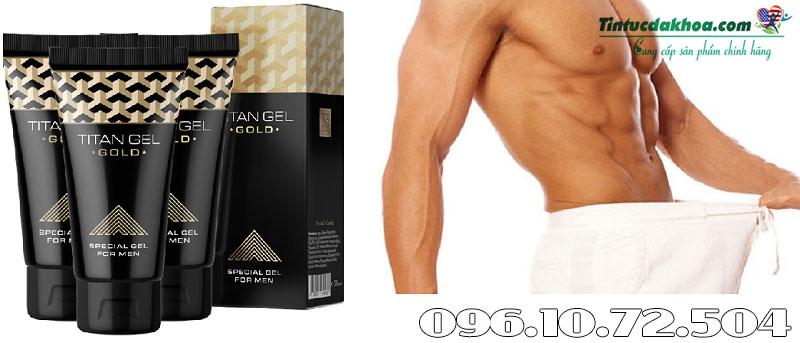 gel titan gold tác dụng gì