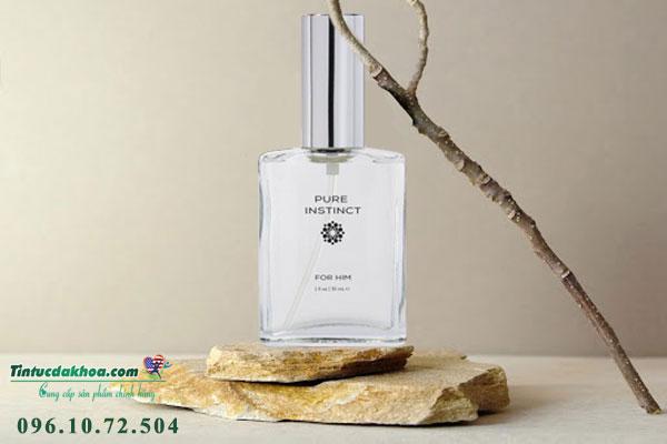 Công dụng nước hoa tình yêu Pure Instinct Pheromone Cologne