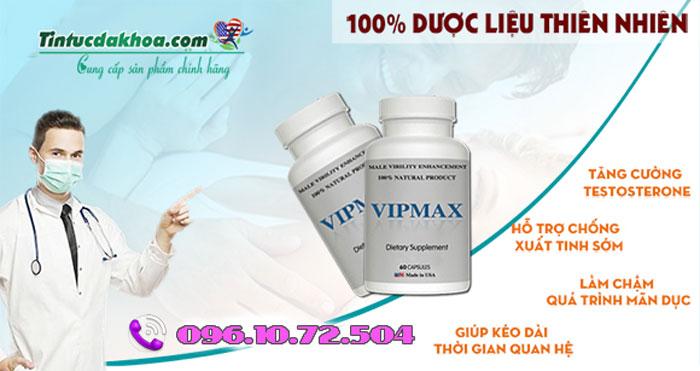 vipmax giúp chống xuất tinh sớm