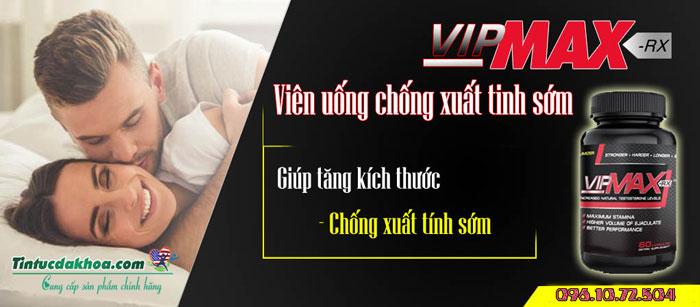 vipmax rx điều trị xuất tinh sớm