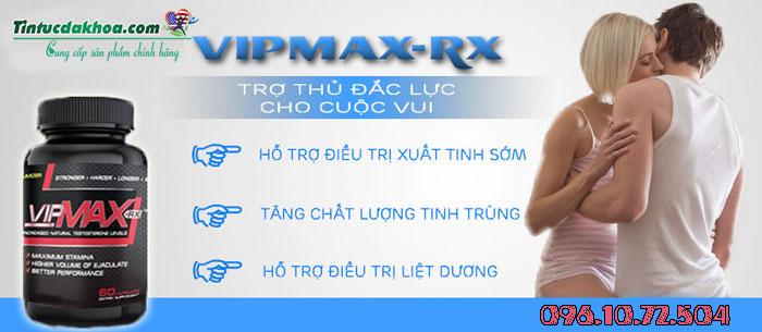 công dụng của vipmax rx