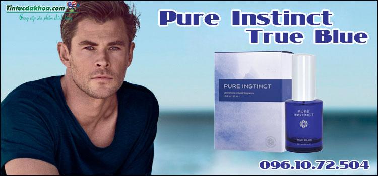 Nước Hoa Pure Instinct True Blue Hỗ Trợ Tăng Ham Muốn Quyến Rũ
