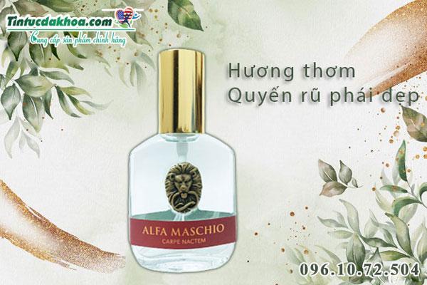 Công dụng nước hoa tình yêu Alfa Maschio