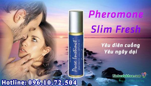 Ưu điểm của sản phẩm Pure Instinct Pheromone Slim Fresh