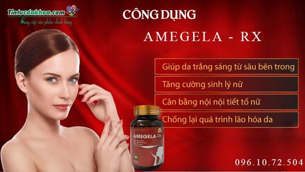 Amegela Rx có tác dụng gì với người dùng?