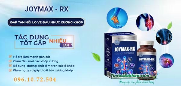 Giới thiệu về viên xương khớp Joymax Rx
