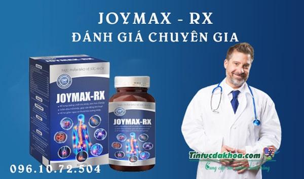 Đánh giá của chuyên gia về viên xương khớp Joymax - Rx?