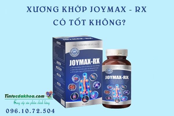 Sử dụng Joymax Rx có tốt không?